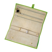 Royce Leather Jewelry Roll Key Lime Green