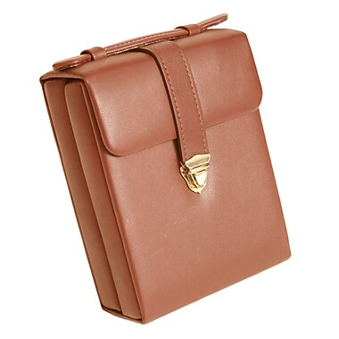 Royce Leather Ladies Jewelry Case Tan