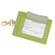 Royce Leather The Big Tag Key Lime Green