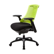 At The Office 10 Series Task Chair , Kiwi Back