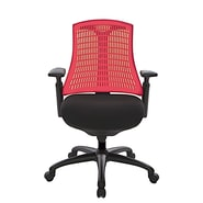 At The Office 10 Series Task Chair , Red Back