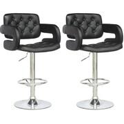 CorLiving Armrest Adjustable Black