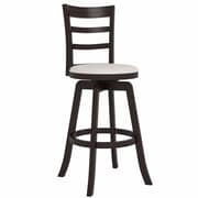 CorLiving Three Bar Design Wooden Barstool 43""