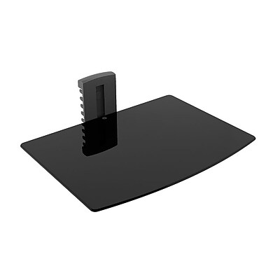 Sonax C-701-SCM DVD Glass Wall Shelf