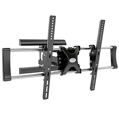 CorLiving Metal 20in.H x 36in.W x 20in.D Wall Mount Articulating Flat Panel
