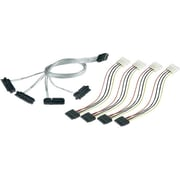 Adaptec® 1m 36-pin SFF-8087 to 29-pin SFF-8482 Serial Attached SCSI Fanout Cable