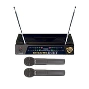 Nady® Encore Duet Dual Wireless Handheld System