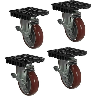 Pelican™ Removable Caster Wheel Kit For 0500 Transport Case