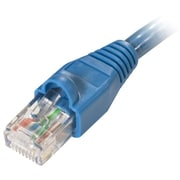 STEREN® Fast Media 10' Cat6 RJ45/RJ45 Patch Cord, Blue