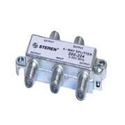 STEREN® 4 Way 900MHz MATV RF Splitter, Silver