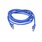 Belkin™ 8' 900 Series Cat6 RJ45/RJ45 Snagless Duplex Patch Cable, Blue