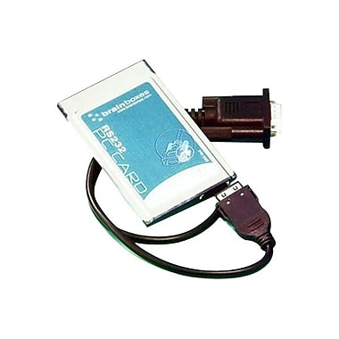 Brainboxes PM-020-001 1-Port RS-232 PCMCIA Adapter Card