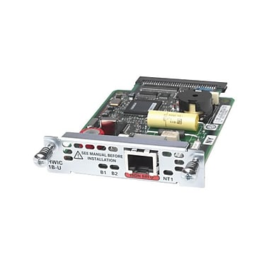 Cisco™ HWIC-1B-U= 1-Port ISDN BRI U High Speed WAN Interface Card