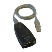 Tripp Lite 3' Keyspan Series High Speed USB A Male to 9-pin DB-9 Male Serial Adapter, Black