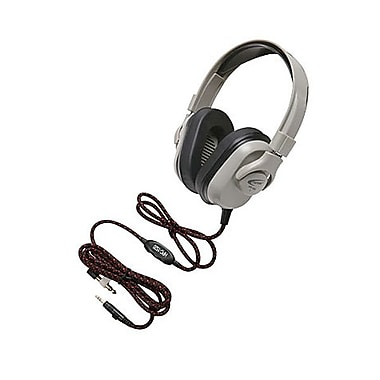 Califone® HPK-1540 Titanium Over The Head Headphones With Rechargeable Cord