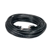 QVS CC715-200BK 200' CAT-6 Flexible Molded Patch Cord, Black