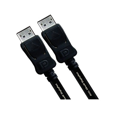 Accell® 1M UltraAV® DisplayPort to DisplayPort Version 1.2 Cable, Black