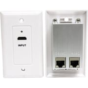 STEREN® HDMI Wall Mount Faceplate, White