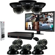 REVO 16 Channel 2TB DVR Surveillance System With 8CAMERA 700TVL & Monitor