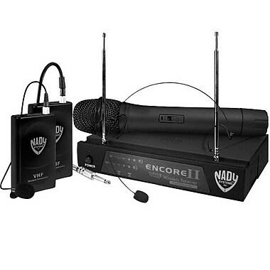 Nady® Encore II Single Channel Wireless Microphone System