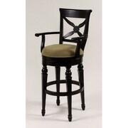 AA Importing 30'' Swivel Bar Stool with Cushion
