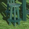 Little Cottage Company Bar Stools; Turf Green