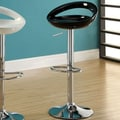 Hokku Designs Luminous Bar Stool (Set of 2); Black