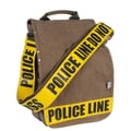 Ducti Police Line Do Not Cross Utility Messenger Bag