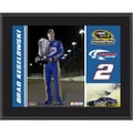 Mounted Memories NASCAR Brad Keselowski 2012 Sprint Cup Series Champion Plaque