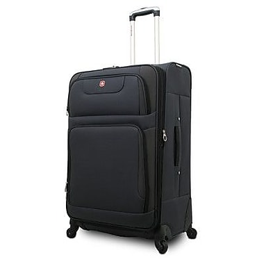 Wenger Swiss Gear Carry-On Spinner Suitcase; Grey/  Black