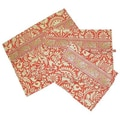 Amy Butler Safia Lingerie Envelopes in Sari Flowers Tomato; Medium
