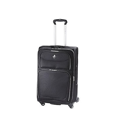 Atlantic Luggage Compass 2 25'' Expandable Suiter Spinner Upright; Black