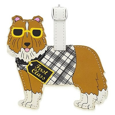 Little Gifts Shetland Sheepdog Luggage Tag