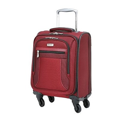 Ricardo Beverly Hills Montecito Micro-Light 16'' Spinner Suitcase; Wine