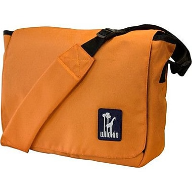 Wildkin Solid Colors Straight-Up Kickstart Messenger Bag; Orange