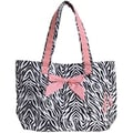 Jessie Steele Zebra Tote Bag with Bow