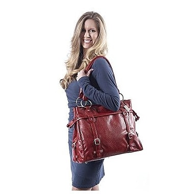Claire Chase Catalina Computer Tote Bag; Red
