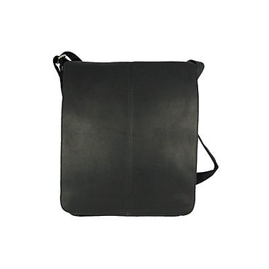 David King Small Vertical Messenger Bag; Black