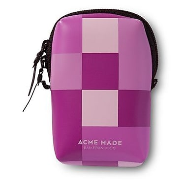 Acme Made Smart Little Pouch; Pink Gingham
