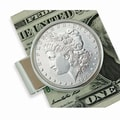 American Coin Treasure Morgan Dollar Money Clip