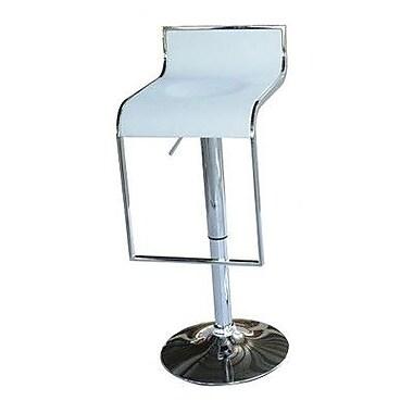 Aosom Classic Design Pub Barstools (Set of 2); White