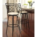 TMS Avery Adjustable Metal Bar Stools (Set of 3)