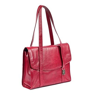 Claire Chase Belize Computer Tote Bag; Red