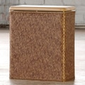LaMont Carter Upright Hamper; Cappucino