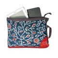 Overland Equipment Large Pouch; Denim Print/Poppy