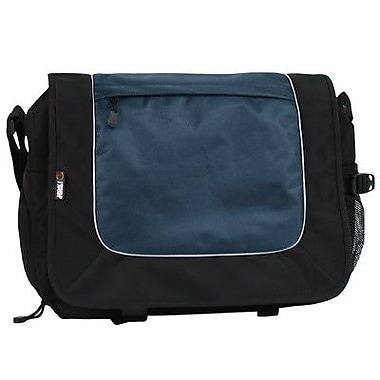J World Laptop Messenger; Navy/Black