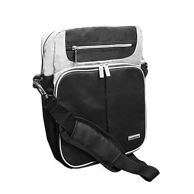 Olympia 13.5'' Laptop Messenger Bag; Black