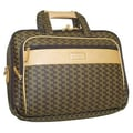 Rioni Aristo Travel Carrier Laptop Briefcase; Brown
