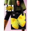 Coyne's Company Medium Modern Butterfly Tote Bag
