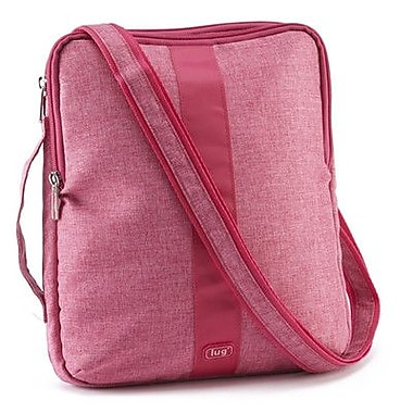 Lug Slingshot iPad or Tablet Pouch; Rose Pink